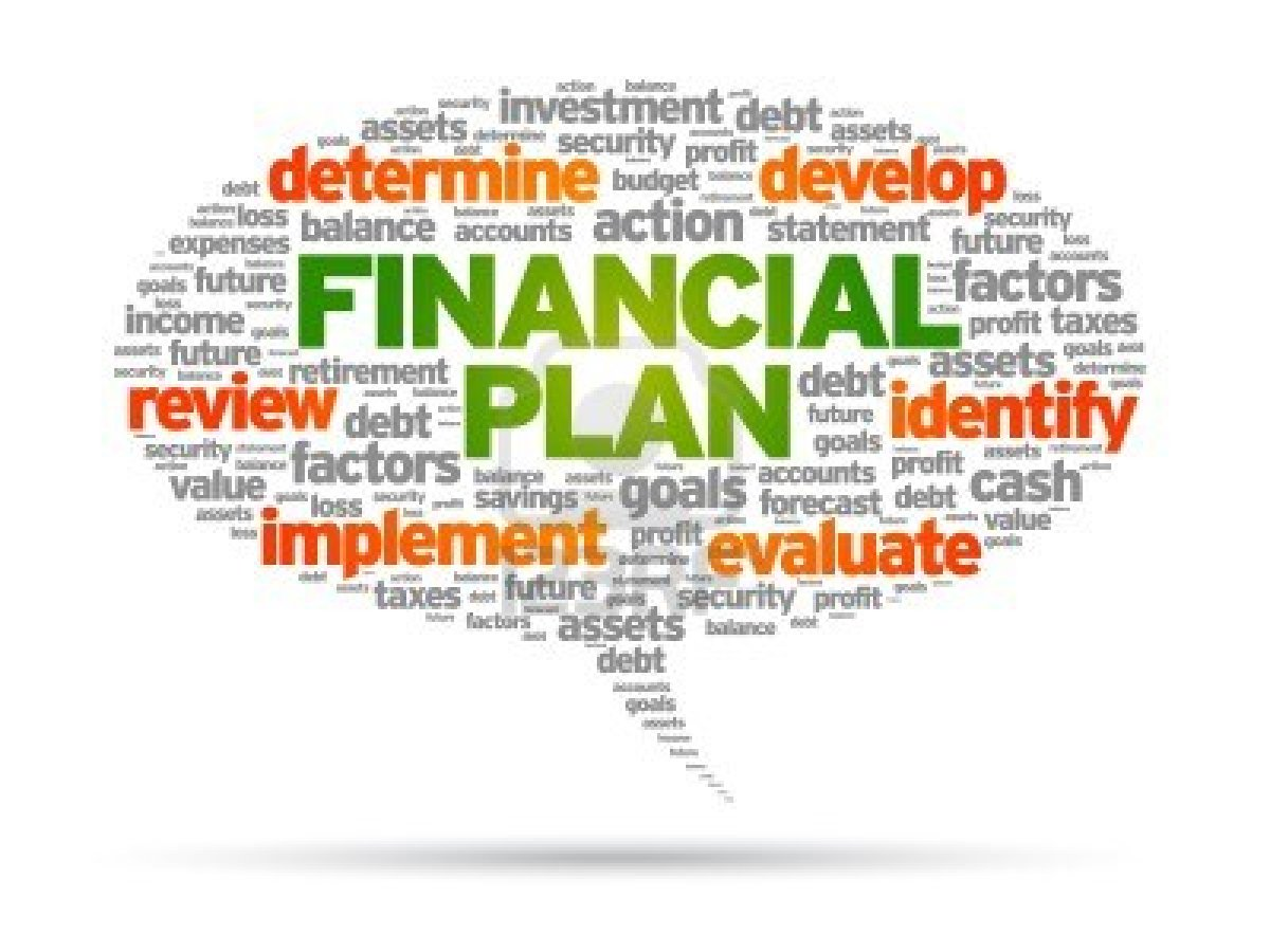 how to setup a personal financial plan