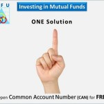 What is the Common Account Number of Mutual Funds?