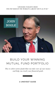 JOHN BOGLE - BUILD YOUR WINNING MUTUAL FUND PORTFOLIO