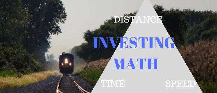 Investing Math – Distance, Speed and Time